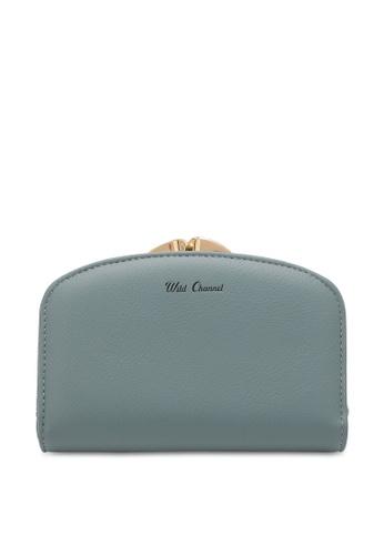 Wild Channel blue Women's Bi Fold Wallet E3819ACF7761BAGS_1