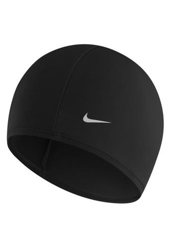 Nike black Nike Swim Unisex Synthetic Swim Cap 18A24AC374843BGS_1