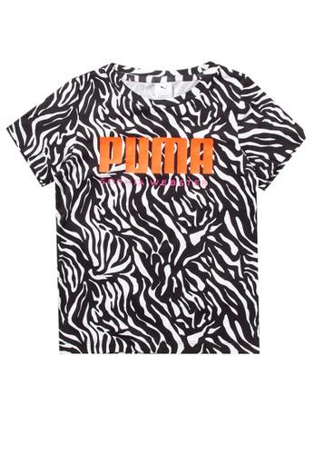 PUMA white Puma Sportstyle Core Puma X Sophia Aop Tee G D06D3KAC218A17GS_1