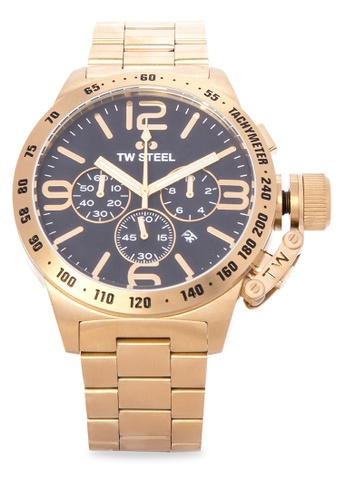 TW Steel gold CB94 Canteen Bracelet Analog Watch TW310AC0KMB1PH_1