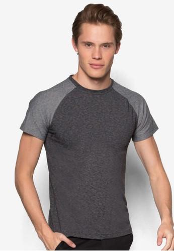 色塊拉克蘭短袖T 恤, 服飾, 素色Tesprit分店恤