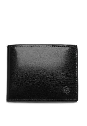 Wild Channel black Faux Leather Short Wallet 8CE0BACB7E7239GS_1
