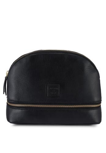 SUPERDRY black Make Up Bag 1587BAC9C543ECGS_1