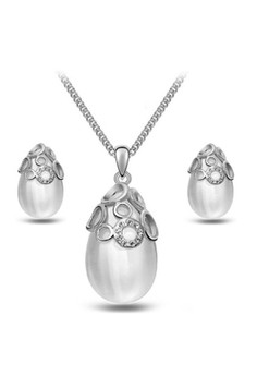 Heelstar Pearl Accessories Jewellery Sets