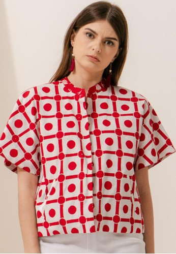 Bateeq white and red SS21 Sayap x Domino Domee Outer 005 AC045AA8B34369GS_1