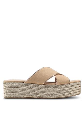 Call It Spring beige Jerirewiel Sandals EC94ASHAAA426DGS_1