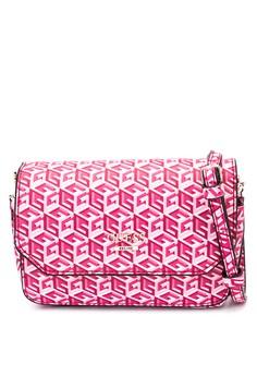 G Cube Petite Crossbody Flap Bag
