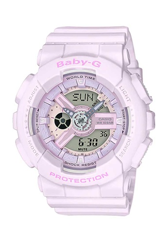 CASIO pink Casio Baby-G Pastel Pink Resin Watch 7C1A6AC6C7BB2AGS_1