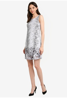 96a249b473 Dorothy Perkins B Mono Animal Floral Dress RM 209.00. Sizes 8 10 12 14 16