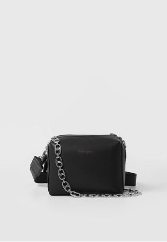 RABEANCO black RABEANCO Anchor Chain Mini Bag - Black 77020AC2A6B634GS_1