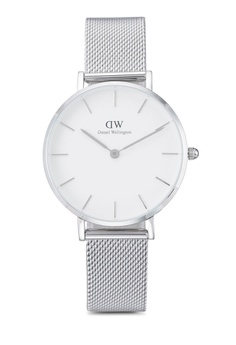 Daniel Wellington silver Classic Petite Sterling Watch 32MM DA376AC20HJRMY_1