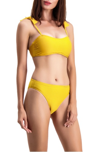 BENCH yellow Two Piece Swimsuit 8C0B7USA29284FGS_1