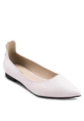 交叉繫帶包跟平底鞋zalora 心得, 女鞋, 芭蕾平底鞋