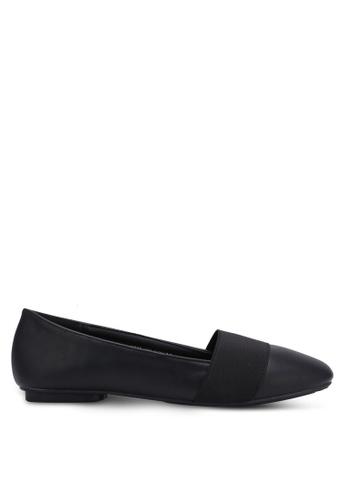 Noveni black Casual Flats NO978SH0RX2PMY_1