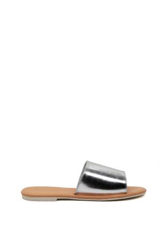London Rag silver Summer Slide Sandals 231A3SH13723C1GS_1