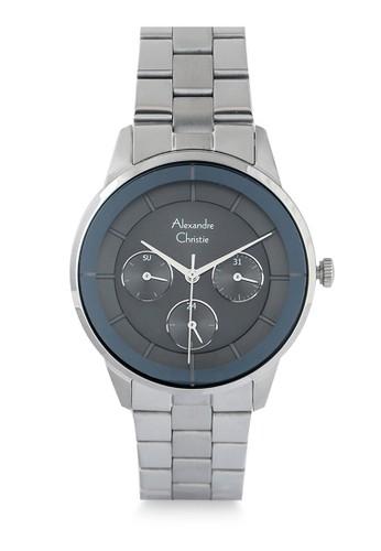 Alexandre Christie silver Alexandre Christie Jam Tangan Wanita - Silver Black - Stainless Steel - 2714 BFBSSBA 2D35CAC41E8C92GS_1