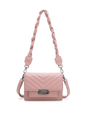 Wild Channel pink Women's Sling Bag / Shoulder Bag / Crossbody Bag C4C9AAC20CCBE8GS_1
