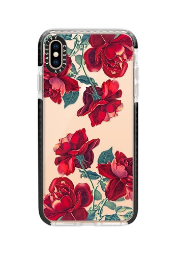 Casetify red Red Roses Impact Protective Case for iPhone XS Max D557FACF256017GS_1