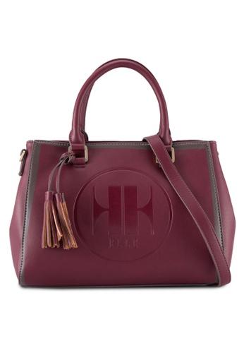 ELLE red Elly Twin Handle Bag EL900AC82WUFMY_1