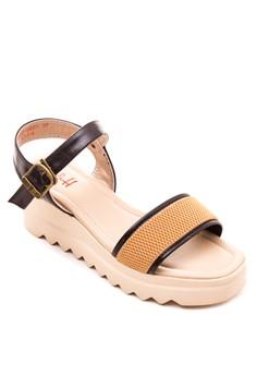 Lydia Wedge Sandals