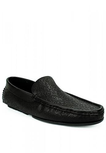 Mario D' boro Runway black Darwin Casual Shoes 346D0SH2024BBFGS_1