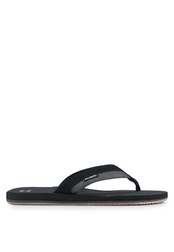 Billabong black All Day Impact Sandals BI783SH0SXHRMY_1