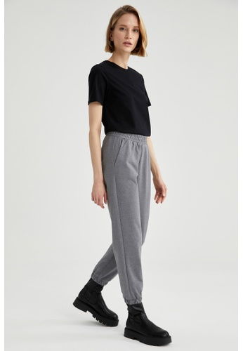 DeFacto grey High Waist Jogger Sweatpants D63F6AA35198A7GS_1