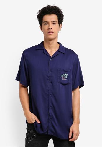 Cotton On blue 91 Short Sleeve Shirt 74D95AA77F2CF7GS_1