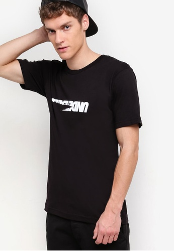 Undefeated black Scrap T-Shirt UN888AA69JXIMY_1
