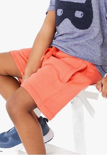 MARKS & SPENCER orange Cotton Rich Jersey Shorts 106EFKA7064DCDGS_1