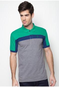 Tri-Color Polo Shirt