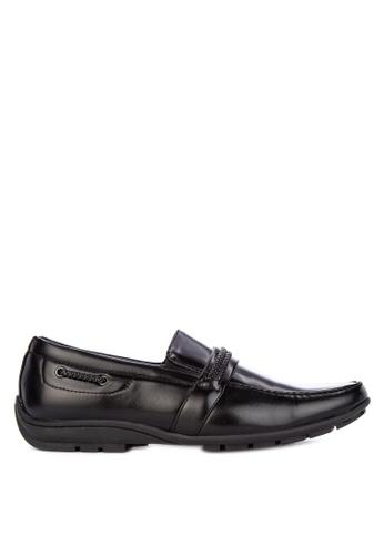 H2Ocean black Formal Slip on Shoes AE3A7SH2A6712EGS_1