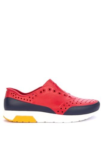 Native red Lennox Block Sneakers B97FESHC142B53GS_1