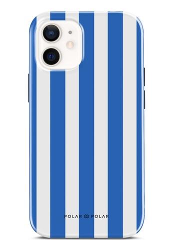 Polar Polar 藍色 藍色直紋雙層光面手機殼 iPhone 12 mini 2F656AC8B13489GS_1