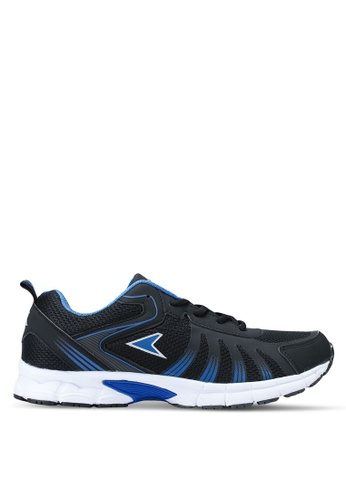 Power black and multi Running Shoes D798ASH41F4A07GS_1