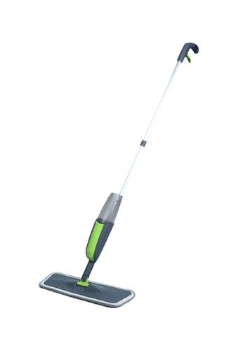 Scrubz green Heavy Duty Cleaning Essentials Easy Grip Premium Microfiber Spray Mop 3D7B0HL0230E1FGS_1