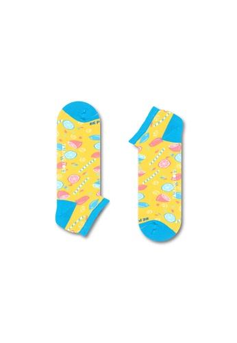 Talking Toes yellow Talking Toes Be Positive Lemonade Ankle Socks 9B303AA7DDB43CGS_1