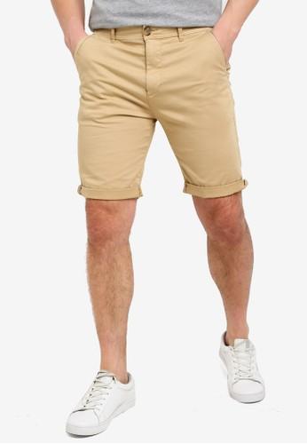 ESPRIT beige Woven Regular Shorts 54114AACA02503GS_1