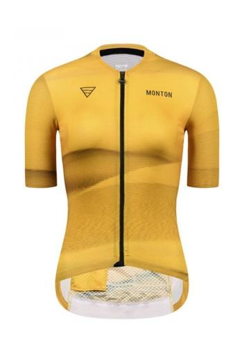 MONTON yellow Monton jersey women short sleeve desert 2CFE4AACB812F5GS_1
