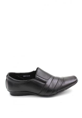 London Fashion black Earnest 900-12 Formal Shoes LO229SH73NZQPH_1