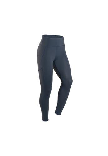VIVIESTA SPORT blue Heart Shape Workout Sports Leggings 14A95AAE1CD6C0GS_1