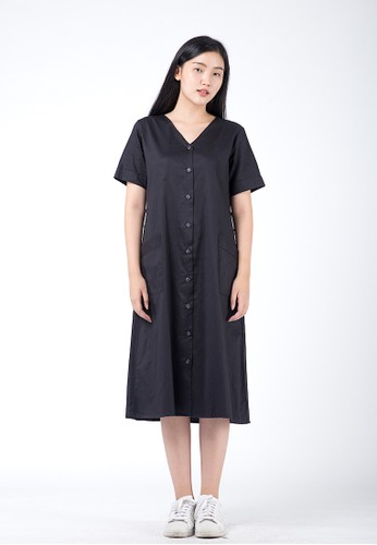 Simplify black Roxie Dress Black 1DDF2AAECC4AEAGS_1
