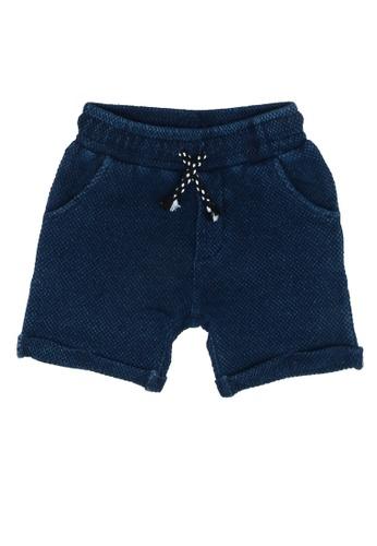 FOX Kids & Baby blue Baby Boy Shorts 2D64CKA3CAF994GS_1