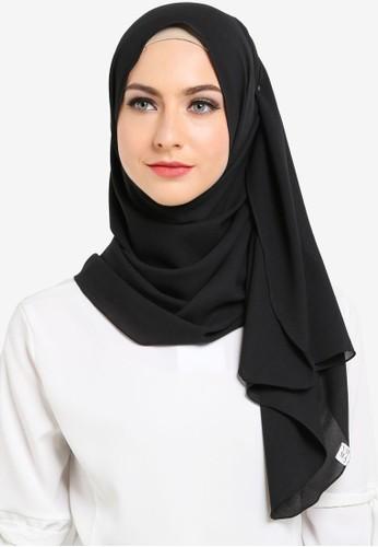 UMMA black Fatima Basic Scarf CB43CAAA47420FGS_1