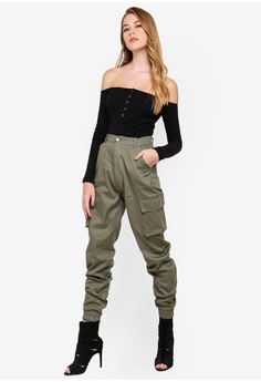 efe89310571a34 36% OFF MISSGUIDED Button Front Long Sleeve Rib Bodysuit S$ 32.90 NOW S$  20.90 Sizes 6 8 10 12 14