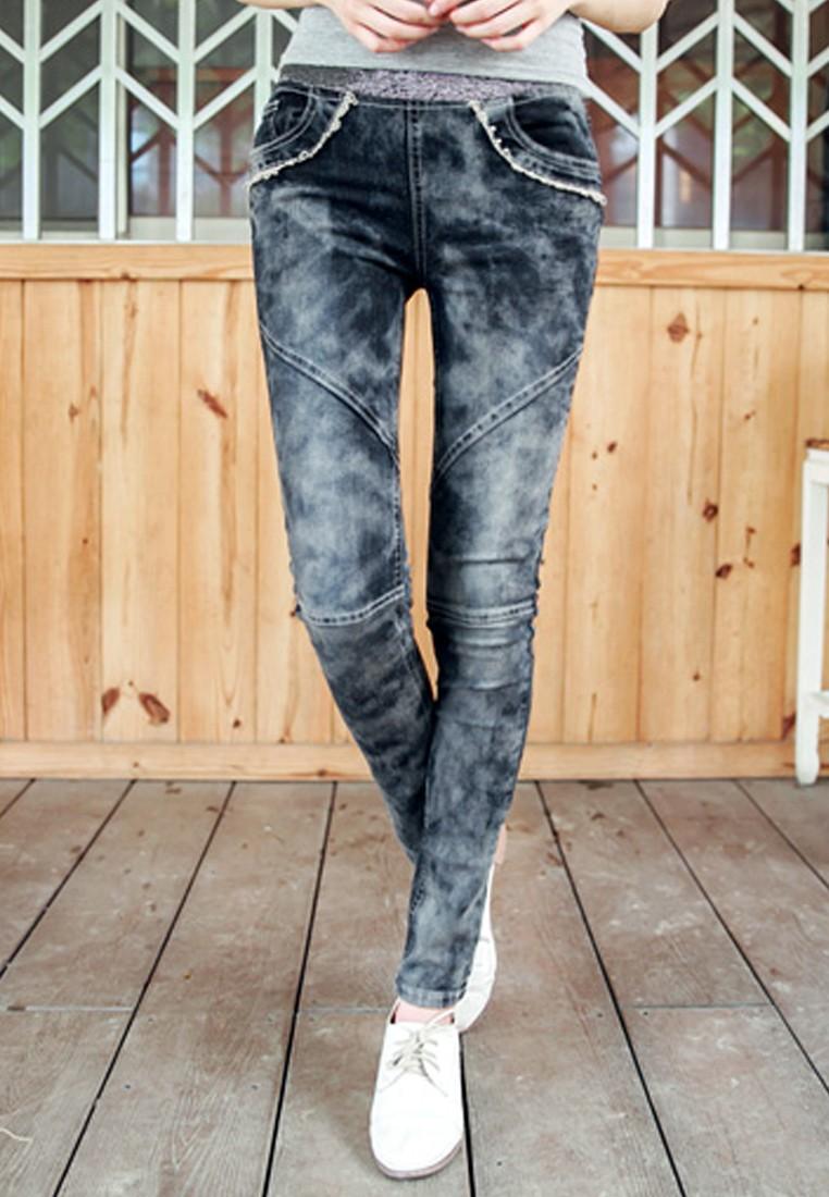 [IMPORTED] Subtle Romantic Dreams Trousers - Black