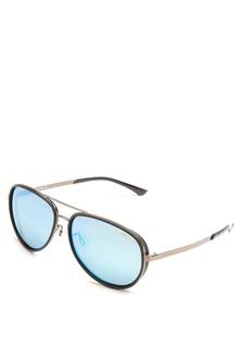 48939a9db4 Gun Full Rim Metal Frame Aviator Sunglasses   LV980233P59    LE892GL18JFTPH 1 Levi s ...