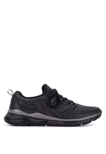 Fila black Assign Running Shoes C33B2SH2376371GS_1