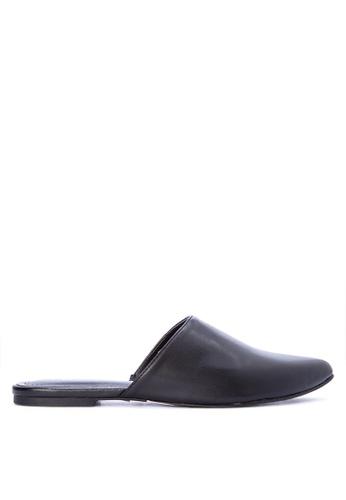 Penshoppe black Synthetic Leather Sandals CA463SH65CBA84GS_1