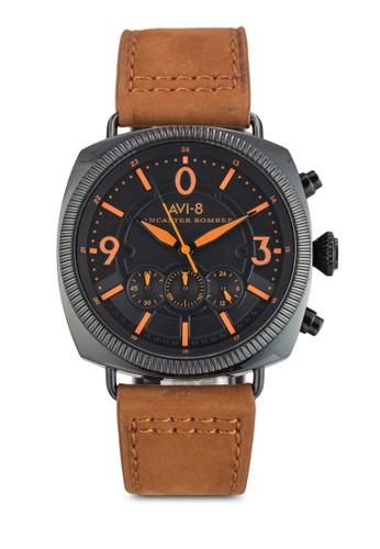 Lancaster Bomber 真皮手錶, zalora 內衣錶類, 飾品配件